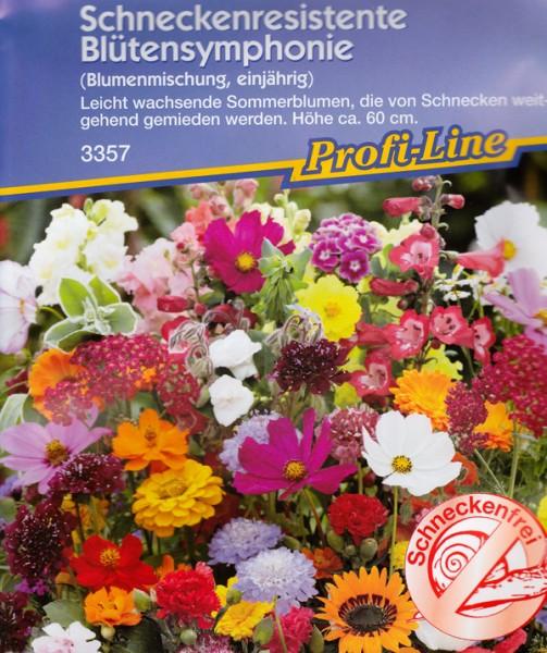 Schneckenresitente Blütensynphonie