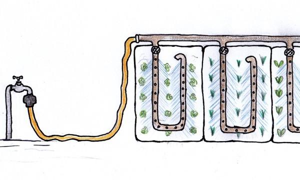 Tropfbewässerungsset